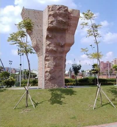 拓展者攀岩墙设计效果图高清图片