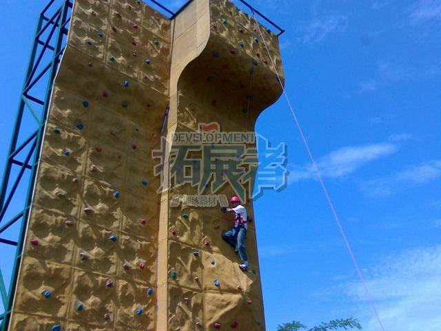 郑州丰乐葵园室外攀岩墙